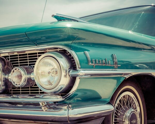 Antique vehicle, classic car